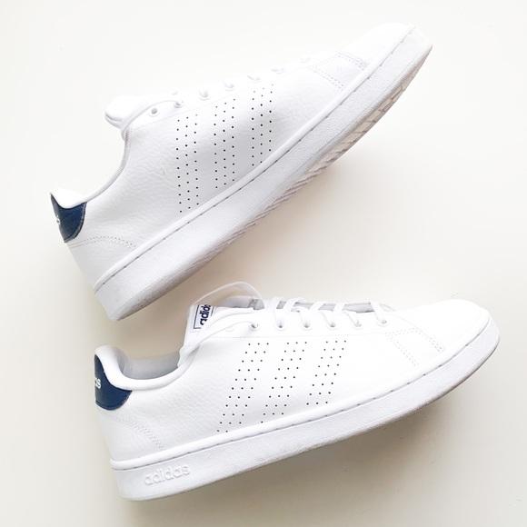 men's adidas cloudfoam advantage white blue
